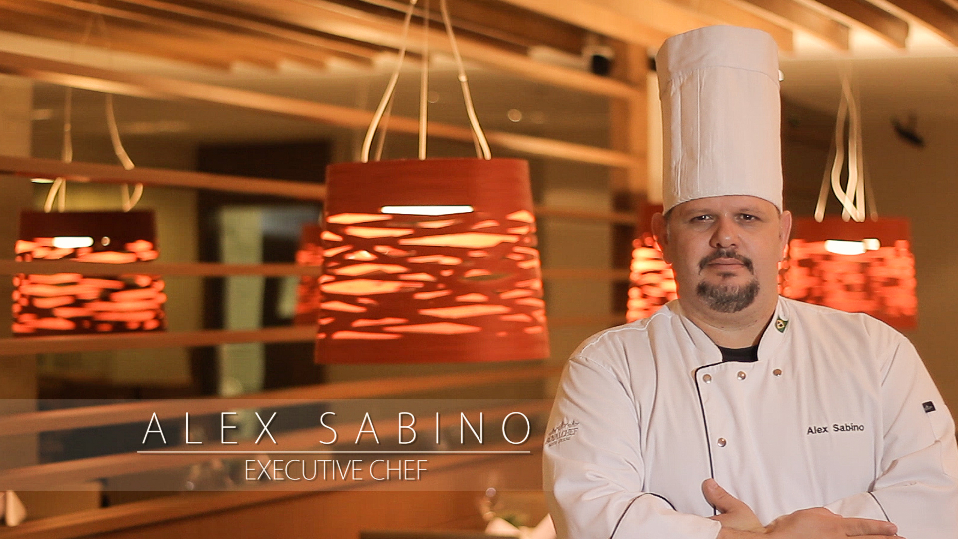 Video Institucional Alex Sabino – Executive Chef