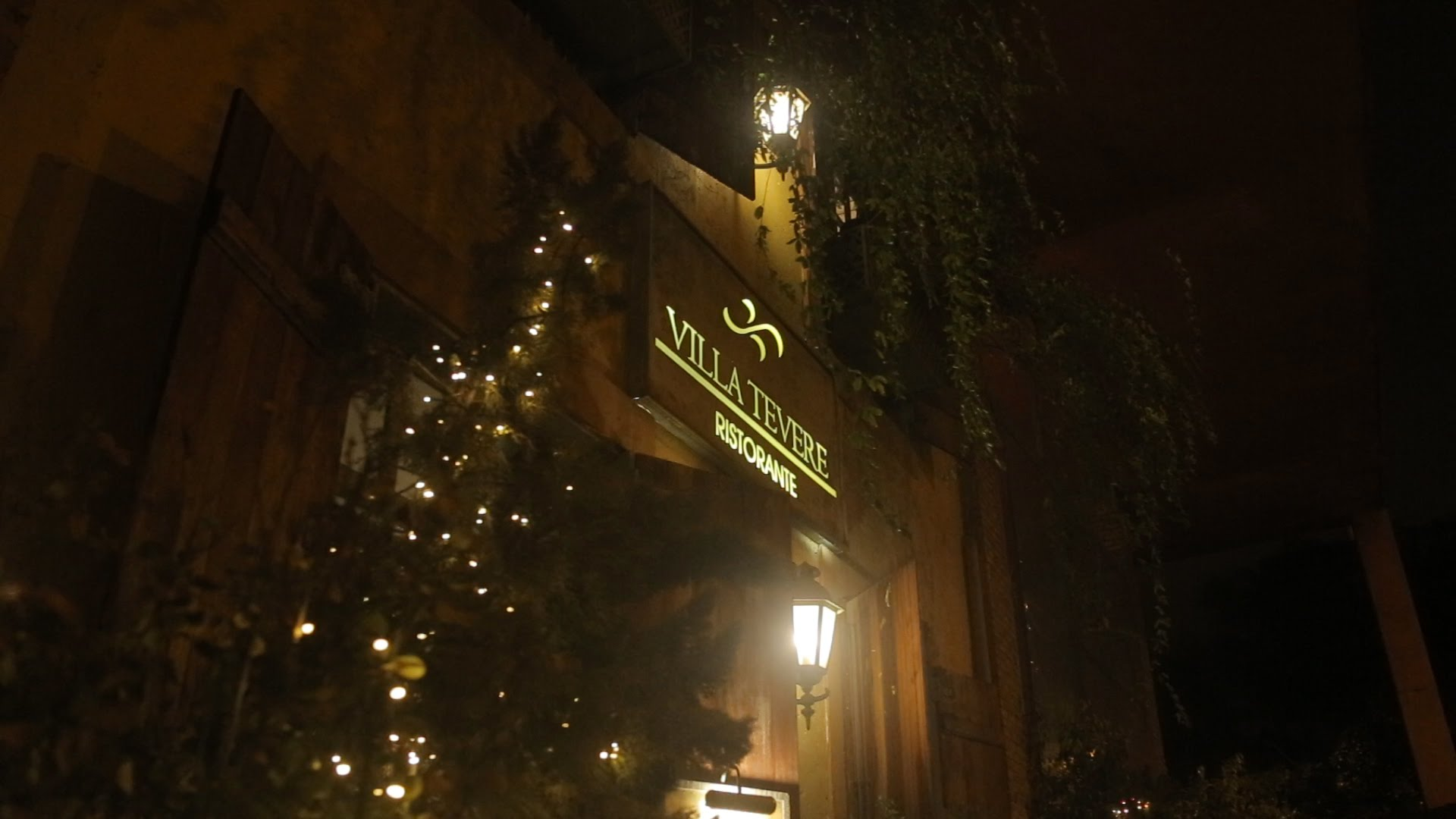 Video Institucional Villa Tevere Ristorante